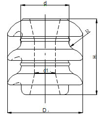 BS type Shackle insulator drawings